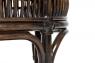 Кофейный комплект Дрим (столик +2 кресла), натуральный ротанг кофейный, Cruzo™ ok0030