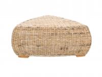 Кофейный столик Пеллегрино CRUZO натуральный ротанг светло-коричневый PL0006