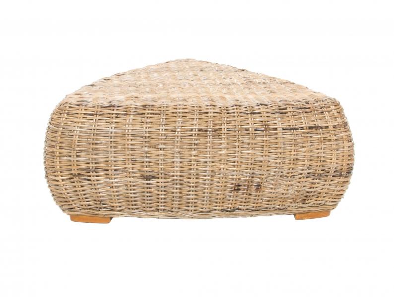Кофейный столик Пеллегрино CRUZO натуральный ротанг, светло-коричневый, PL0006