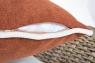 Диван Пеллегрино трехместный CRUZO натуральный ротанг, коричневый, PL0003