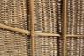 Подвесное кресло-кокон Ирма CRUZO натуральный ротанг светло-коричневый ks0010