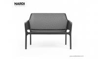 Скамейка Nardi Net Bench Antracite 40338.02.000