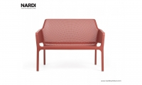 Скамейка Nardi Net Bench Corallo 40338.75.000