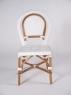 Обедний комплект CRUZO Бистро 2 (стол+6 стульев) белый ok0002