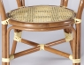 Обеденный комплект CRUZO Бистро 6 (стол+6 стульев) желтый ok0006
