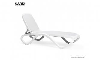 Шезлонг Nardi Omega Bianco Bianco 40417.00.108