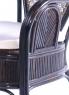 Кофейный комплект CRUZO Самбир (столик + 2 кресла), коричневый, ok0012
