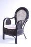 Обеденный комплект CRUZO Самбир (стол + 5 кресел) натуральный ротанг коричневый ok0009