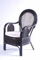 Обіднє крісло Самбір CRUZO натуральний ротанг коричневий ok001224