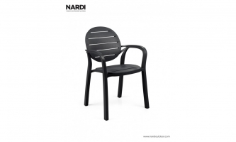 Крісло Nardi Palma Antracitе Antracite 40237.02.002
