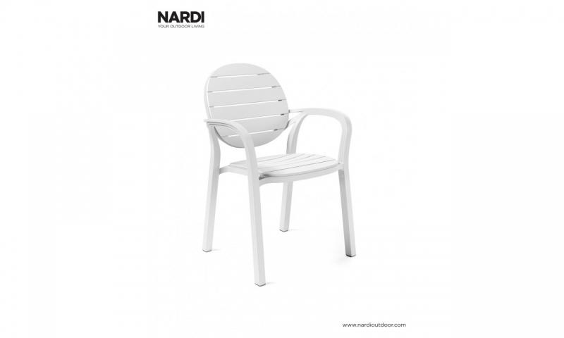 Крісло Nardi Palma Bianco Bianco 40237.00.000
