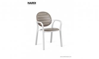 Кресло Nardi Palma Bianco Tortora 40237.00.001