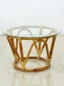 Комплект меблів Папасан Нуово CRUZO (софа, 2 крісла й столик) натуральний ротанг km08202
