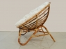 Кругле крісло Папасан Нуово CRUZO натуральний ротанг, kr08201