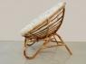 Круглое кресло Папасан Нуово CRUZO натуральный ротанг, kr08201