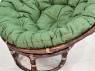 Комплект мебели Папасан CRUZO (софа, 2 кресла, столик) натуральный ротанг, орех, d0420