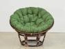 Комплект мебели Папасан CRUZO (софа, 2 кресла, столик) натуральный ротанг орех d0420