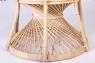 Кресло CRUZO Павлин  натуральный ротанг светло-медовый kr0010