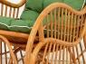 Кресло-качалка Пенел CRUZO натуральный ротанг, медовый, kk00099