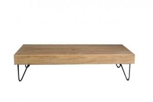 Кофейный стол Харвей CRUZO тик натуральный kt161020201
