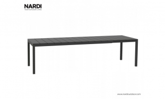 Стол Nardi Rio 210 Extensible Antracite Vern Antracite 48252.02.000
