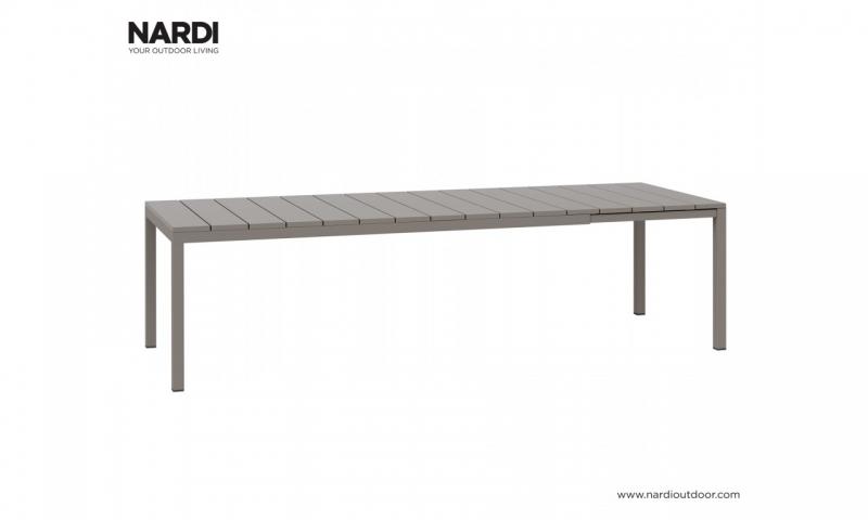 Стол Nardi Rio 210 Extensible Tortora Vern Tortora 48259.10.000
