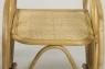 Кресло-качалка CRUZO Свит Рокинг натуральный ротанг, медовый, kk0003
