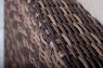 Модульный диван двойка CRUZO Раунд искусственный ротанг коричневый d0031