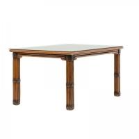 Обеденный стол Феофания CRUZO натуральный ротанг ореховый fs0001