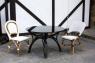 Обеденный стол CRUZO Самбир натуральный ротанг, коричневый, st0006
