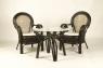 Кофейный стол CRUZO Самбир натуральный ротанг коричневый st0005
