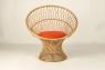 Кресло CRUZO Сенди натуральный ротанг, медовый, kr0008