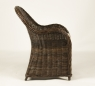Кресло Сейшелла CRUZO натуральный ротанг, темно-коричневый, kr0004