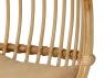 Подвесное кресло-качель Шелл-2 CRUZO натуральный ротанг, kr08216