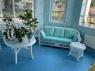 Комплект плетеной мебели Сопрано CRUZO (диван, софа, кресло, 2 столика) искусственный ротанг, белый, sp0002
