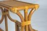 Столик-газетница натуральный ротанг королевский дуб, Cruzo™, st0003
