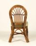 Обеденный комплект CRUZO Афина (стол +6 стульев) натуральный ротанг, ореховый, ok0014