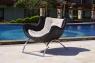 Кресло Суоми CRUZO натуральный ротанг, темно-коричневый, k00097