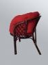 Комплект мебели Таврия Фуларм Ред из натурального ротанга софа, 2 кресла и кофейный столик темно-коричневый CRUZO d00092