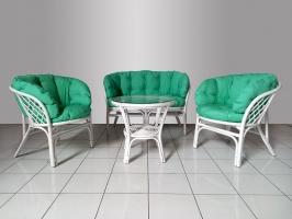 Кресло CRUZO Таврия натуральный ротанг медовый kr0005