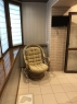 Крісло-гойдалка Юніверсал CRUZO натуральний ротанг, коричневий, kk0055