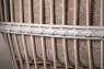 Диван - софа Юта натуральный ротанг белый, Cruzo™, d0007
