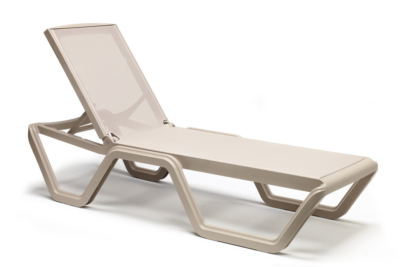 Шезлонг Vela Scab Design Tortora Tortora 2044