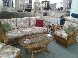 Комплект мебели Аскания Премиум CRUZO натуральный ротанг королевский дуб d0018