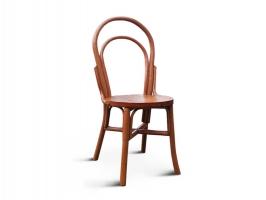 Венский стул из натурального ротанга орехового цвета CRUZO sv10889-2