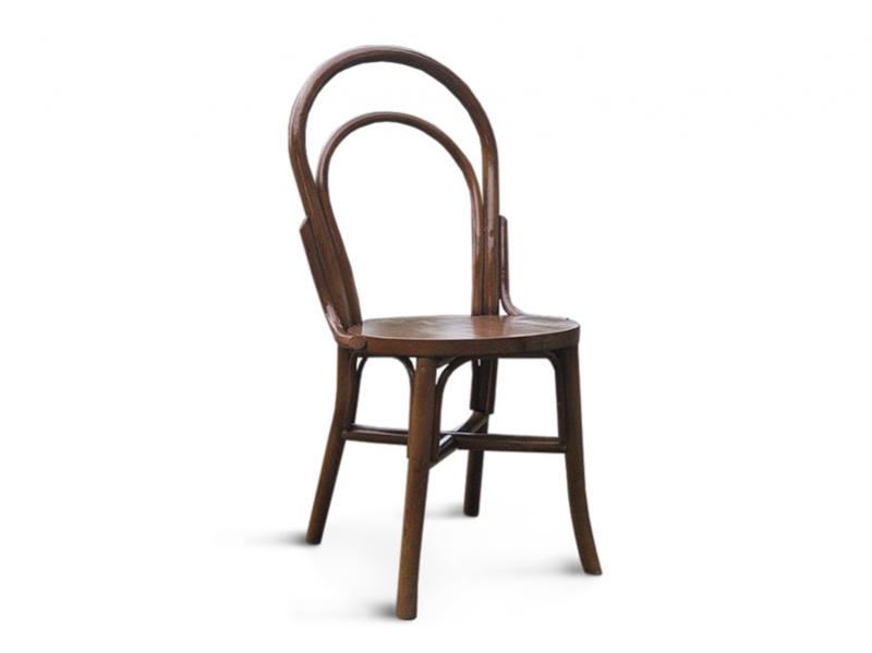 Венский стул из натурального ротанга коричневого цвета CRUZO sv10889-3