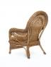Кресло Виктория натуральный ротанг светло коричневый, Cruzo™ d0030