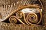 Софа Вікторія CRUZO натуральний ротанг, світло-коричневий, d0032