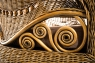 Софа Виктория CRUZO натуральный ротанг, светло-коричневый, d0032