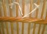 Кресло-качалка CRUZO Винтаж натуральный ротанг, медовый, kk0010